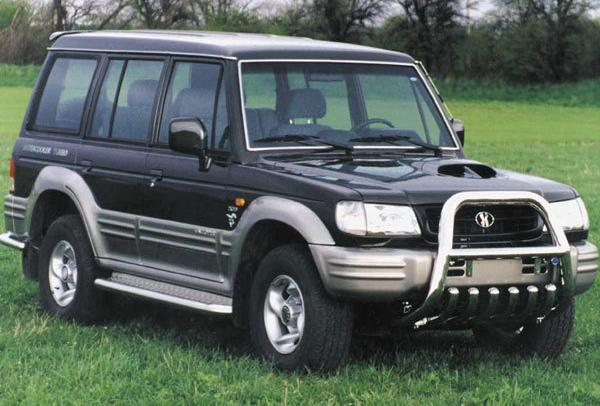 Руководство по ремонту Hyundai Galloper 1 / Galloper 2