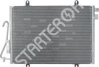 Радиатор кондиционера CARGO 3CND0268277
