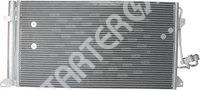 Радиатор кондиционера CARGO 3CND0268475
